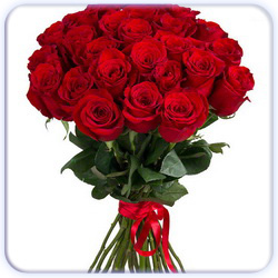 Red Roses Bouquet - 27 Stems