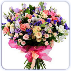 Mixed Flowers Bouquet - Big