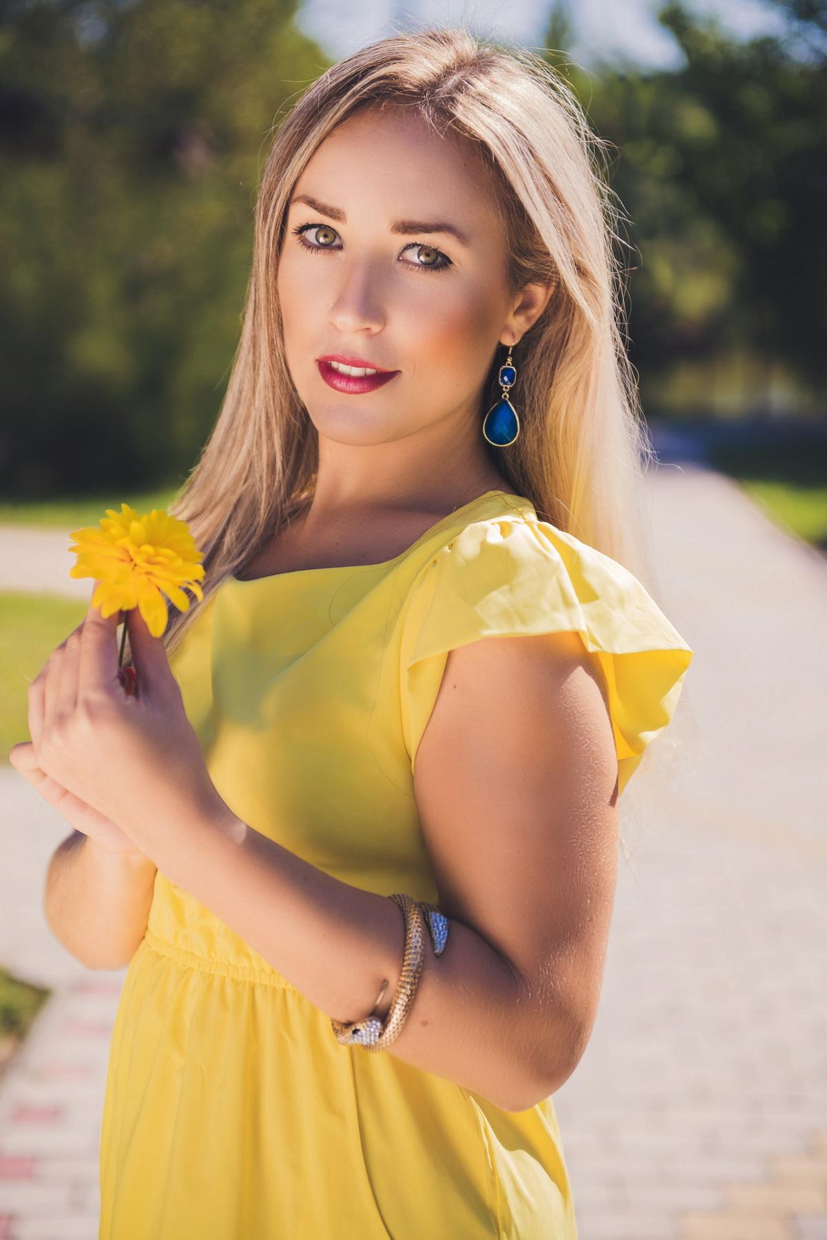 Marina, Ukraine bride for romantic
