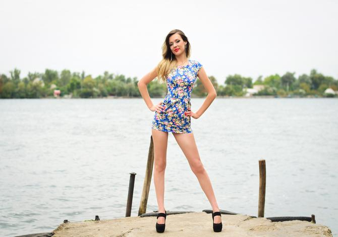 Elena, Ukraine bride for romantic