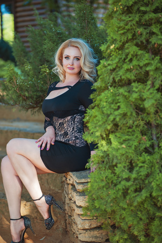 Olga, Ukraine bride for romantic